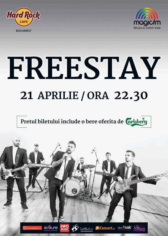 Concert Freestay la Hard Rock Cafe