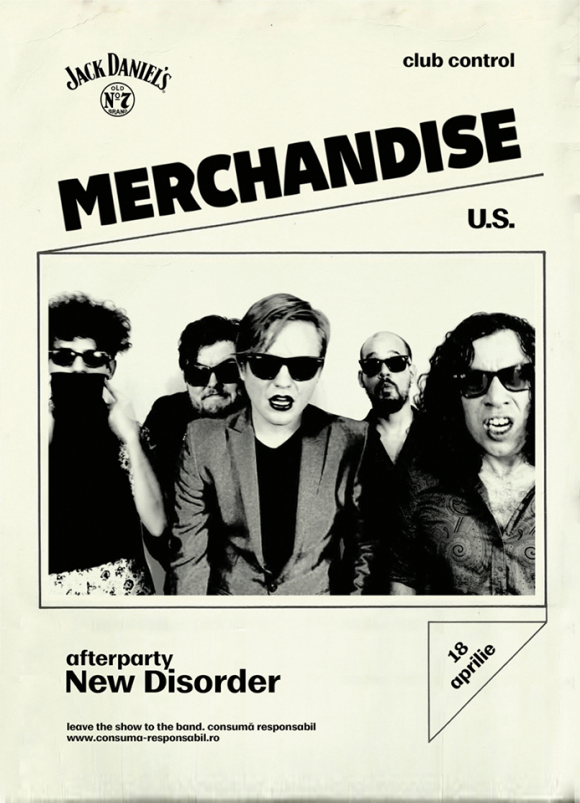Concert Merchandise (U.S.) si New Disorder in Club Control