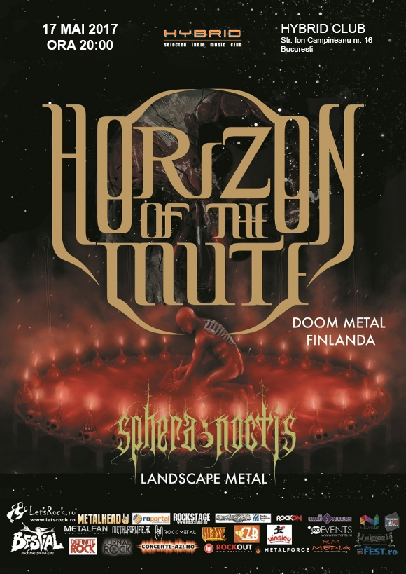 Concert doom finlandez cu Horizon of the Mute