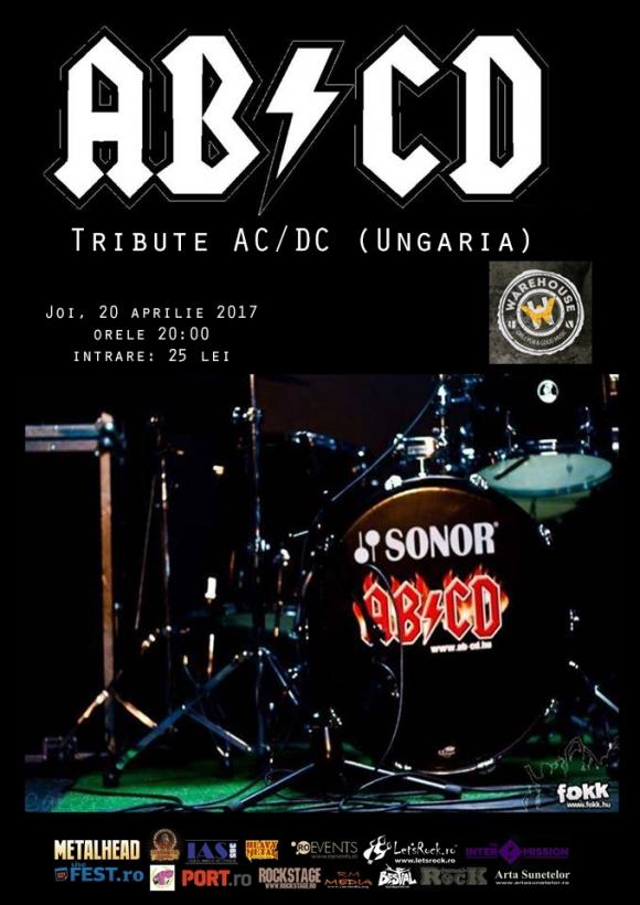 Concert tribute AC/DC cu maghiarii de la AB/CD la Brasov