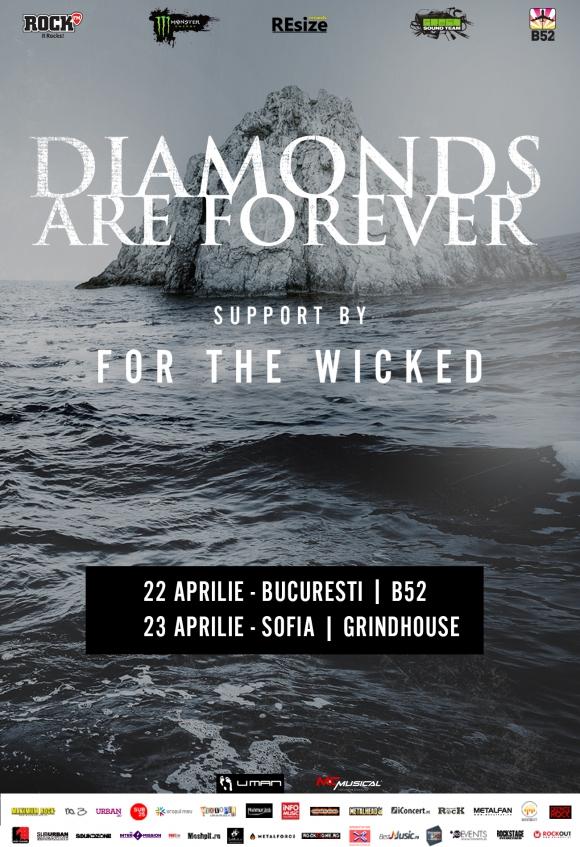 Concert Diamonds Are Forever pentru lansarea noului album