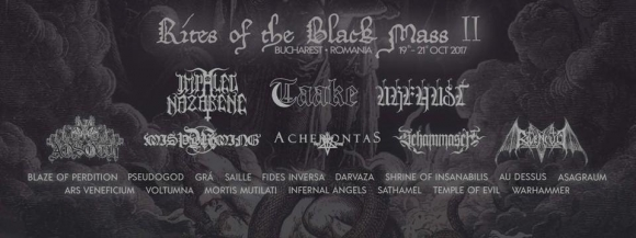 Festivalul Rites Of The Black Mass II ii are ca invitati pe Taake, Urfaust si Impaled Nazarene