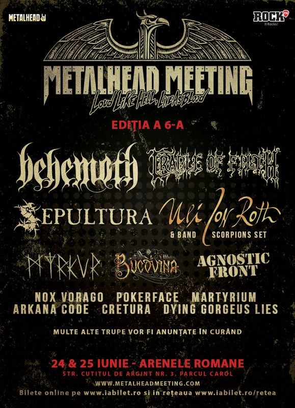 Fondatorul Scorpions, Uli Jon Roth, aduce The Tokyo Tapes la Metalhead Meeting Festival 2017