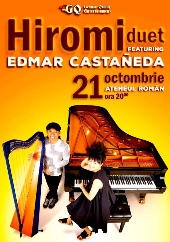 HIROMI duet featuring EDMAR CASTANEDA, la Ateneul Roman