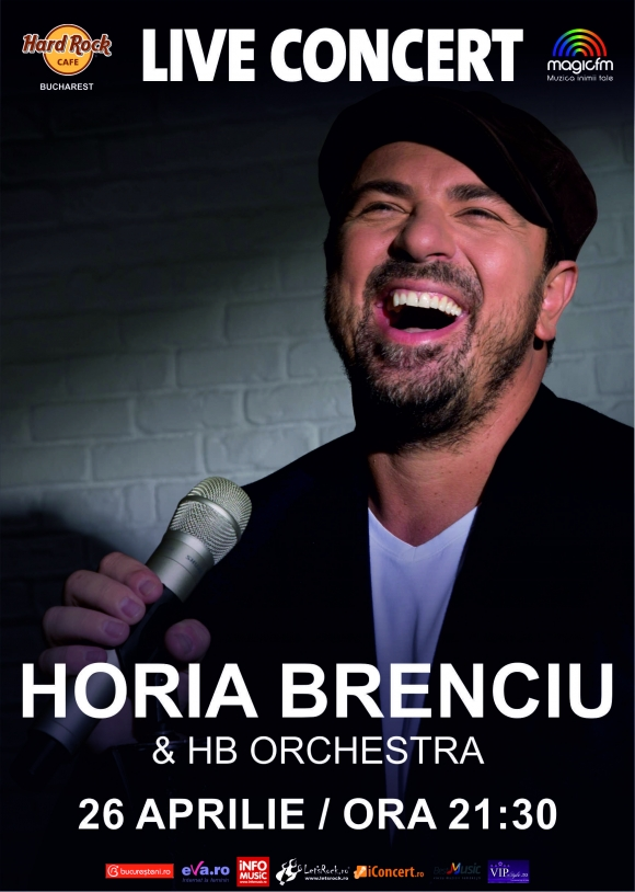 Horia Brenciu & HB Orchestra concerteaza la Hard Rock Cafe