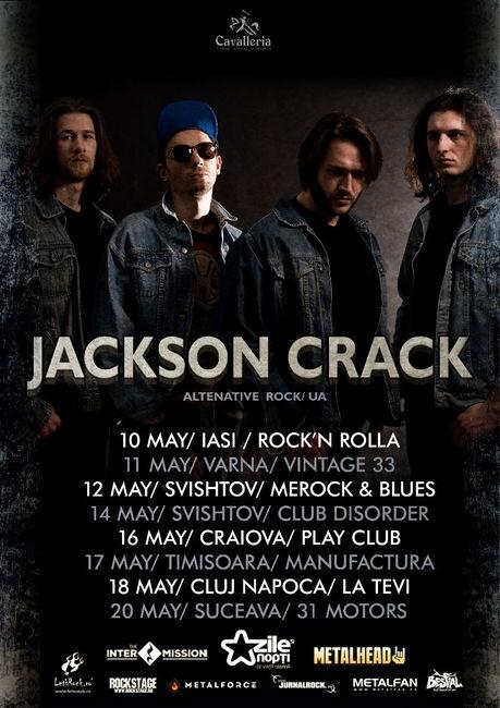 Jackson Crack lanseaza albumul de debut la sfarsitul lui aprilie