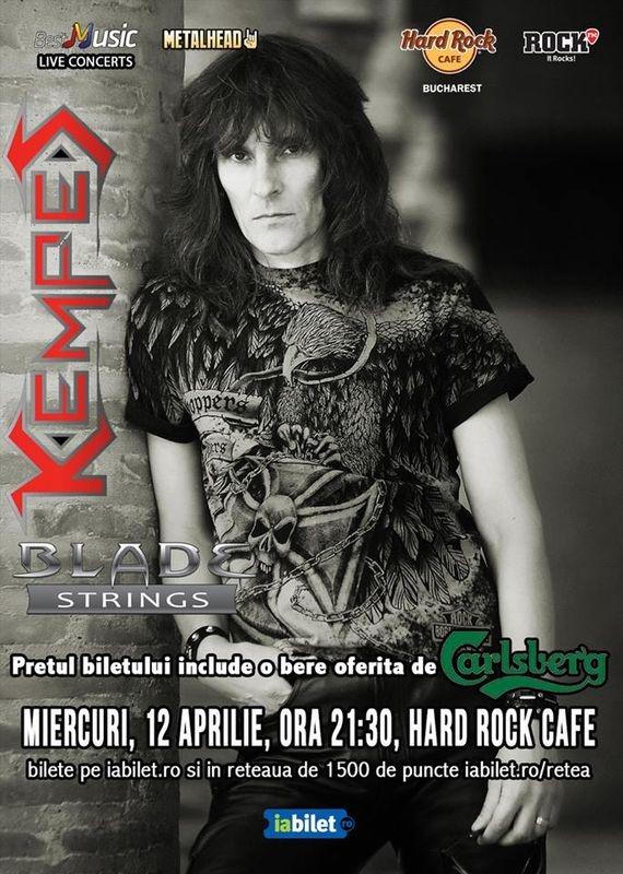 Kempes canta in premiera la Hard Rock Cafe