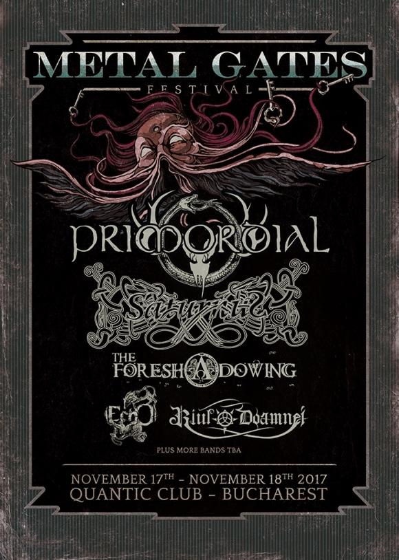 Saturnus este cel de-al doilea headliner anuntat la Metal gates Festival