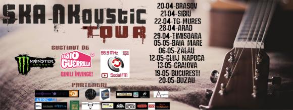 Turneul national Ska-Nkoustic Tour incepe la Brasov si Sibiu