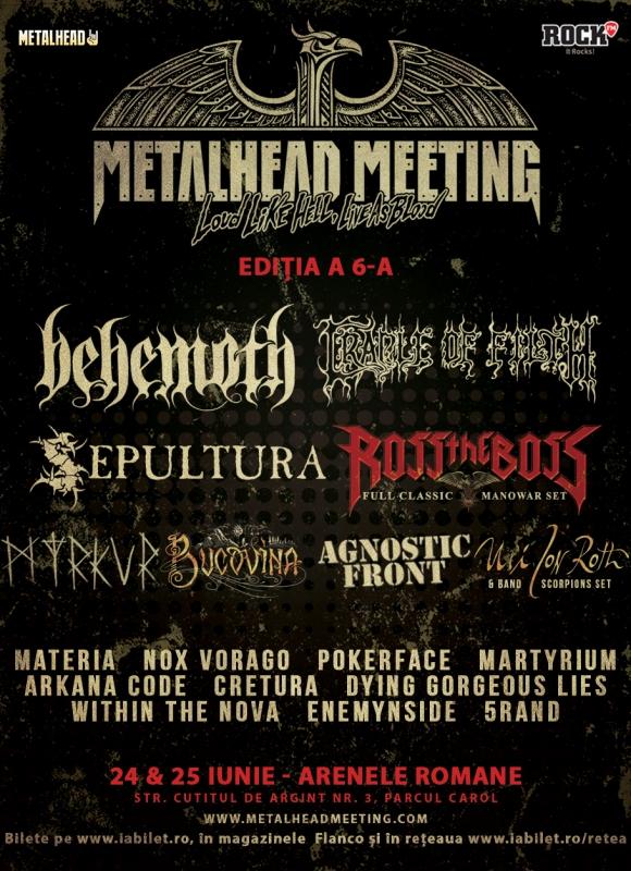Afisul final, programul si bilete de o zi la Metalhead Meeting 2017