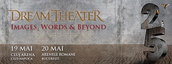 Aproximativ o saptamana pana la concertele Dream Theater din Romania