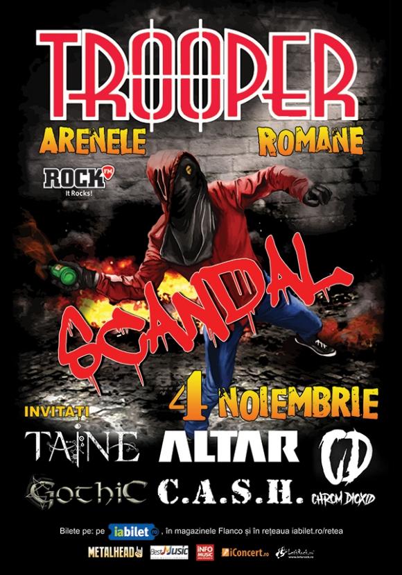 Cei de la Trooper anunta invitatii din concertul de la Arenele Romane