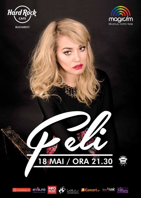 Concert FELI la Hard Rock Cafe, 18 mai 2017