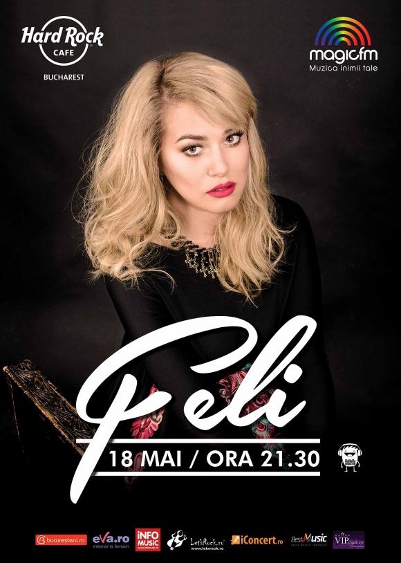 Concert FELI la Hard Rock Cafe, 18 mai 2017