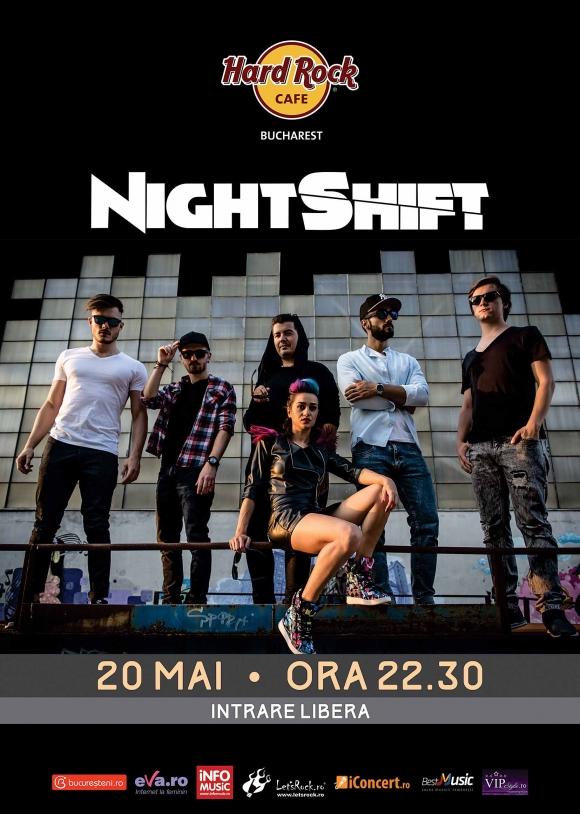 Concert NightShift la Hard Rock Cafe