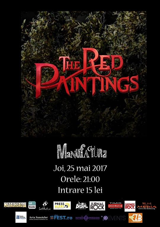 Concert cu australienii de la The Red Paintings la Timisoara