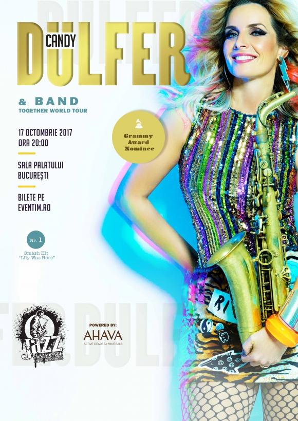 Jazz Syndicate Live Sessions va invita la concertul Candy Dulfer, in premiera la Bucuresti