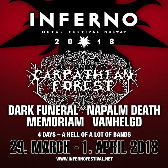Primele trupe confirmate la Inferno Metal Festival 2018