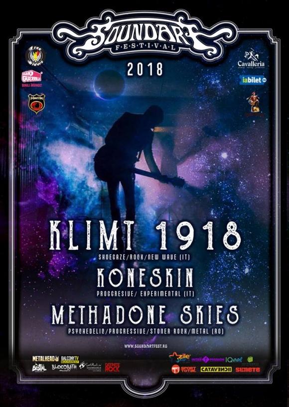 Primele trupe confirmate la SoundArt Festival 2018 sunt Klimt 1918, Koneskin si Methadone Skies