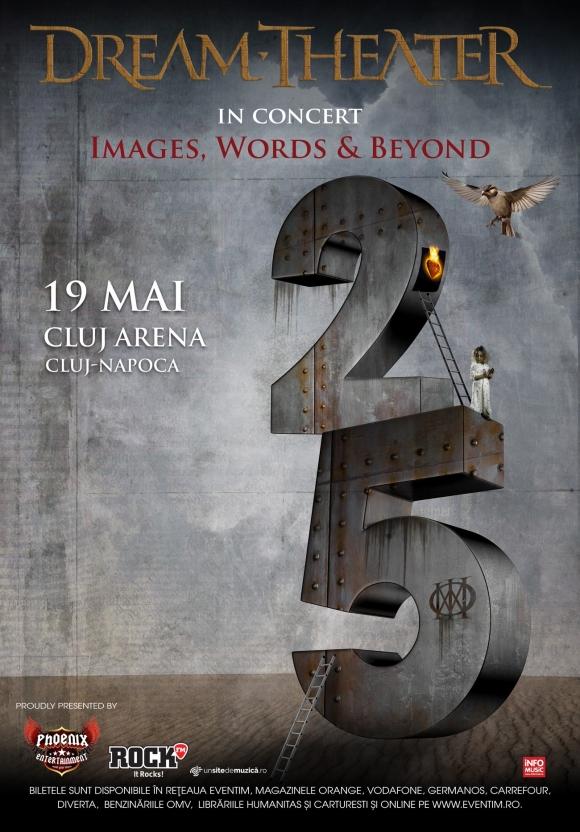 Program si reguli de acces pentru concertul Dream Theater de la Cluj-Napoca