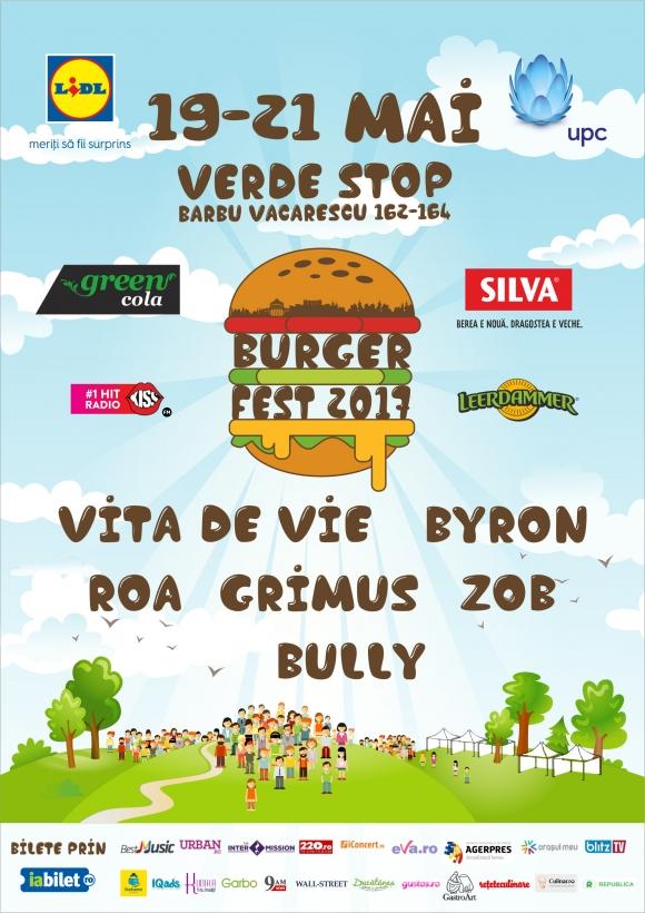 Restaurantele participante la Burgerfest 2017