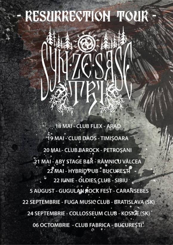 Syn Ze Sase Tri sustine zilele urmatoare cinci concerte