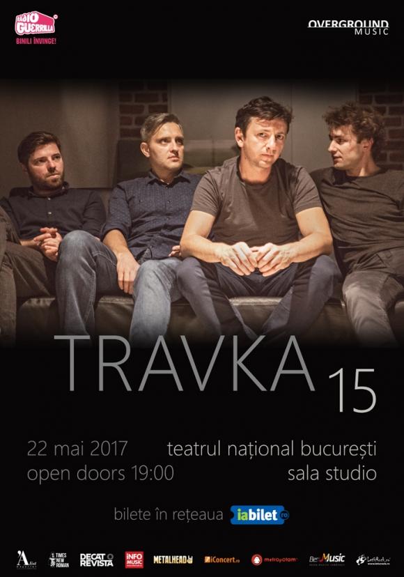 Travka aniverseaza 15 ani pe printr-un concert la Teatrul National Bucuresti