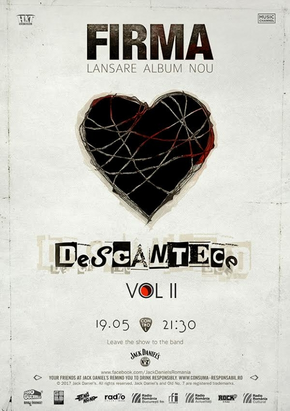 """Trupa FiRMA lanseaza un nou album: """"Descantece - Vol. II"""""""
