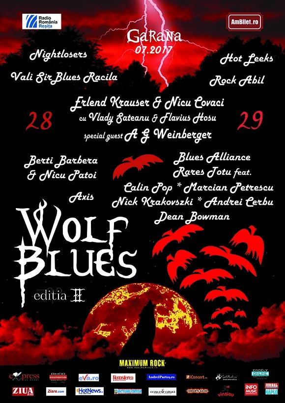 A doua editie a Festivalului Wolfblues al lui Nicu Covaci are loc la sfarsitul lui iulie