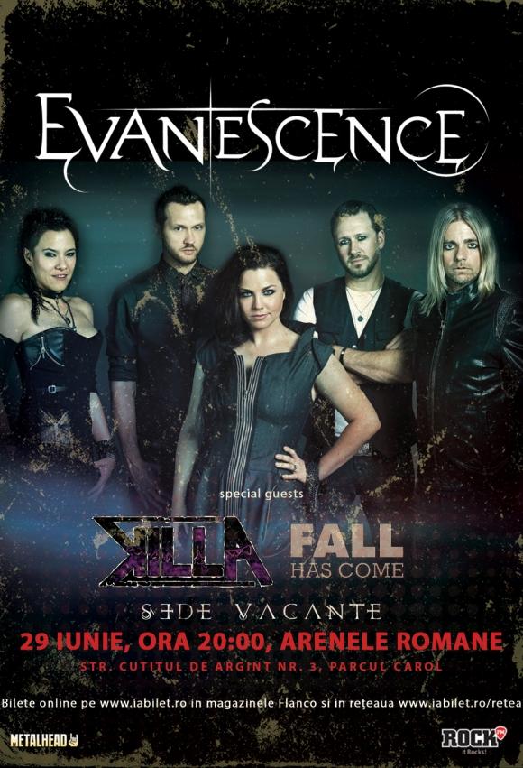 Amy Lee (Evanescence) transmite un mesaj video fanilor din Romania