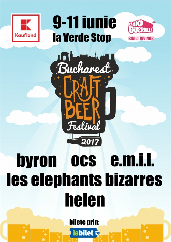Bucharest Craft Beer Festival 2017 – Great BEER, Great FOOD, Great MUSIC
