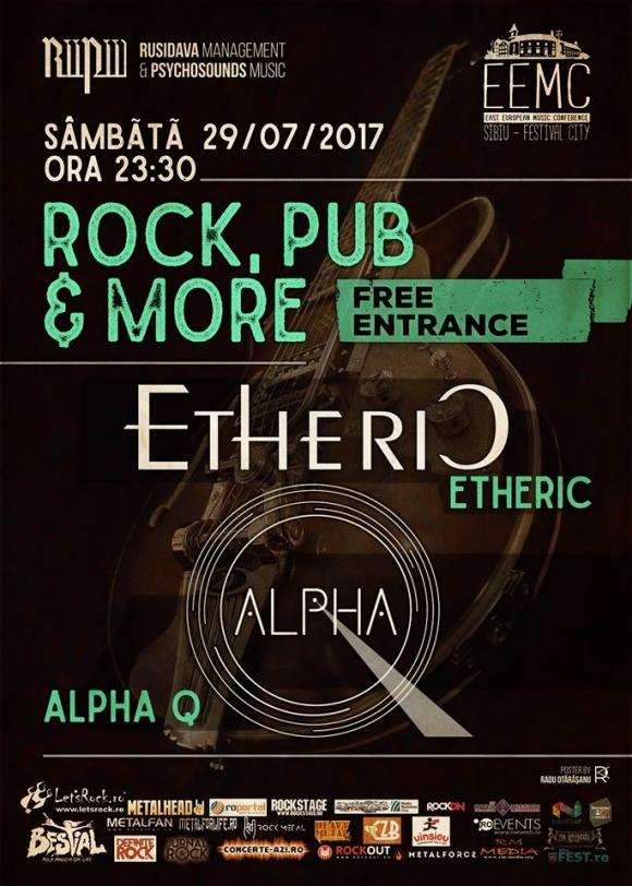 Concert Etheric & Alpha Q in Rock,Pub & More din Sibiu