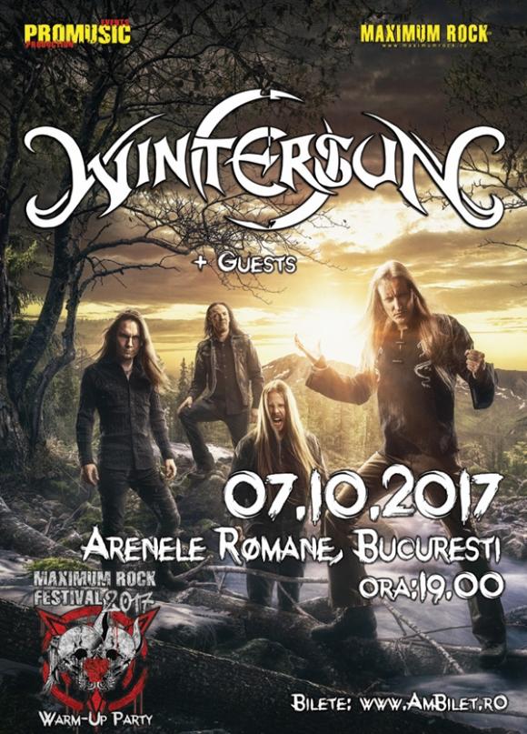 Concert Wintersun la Arenele Romane