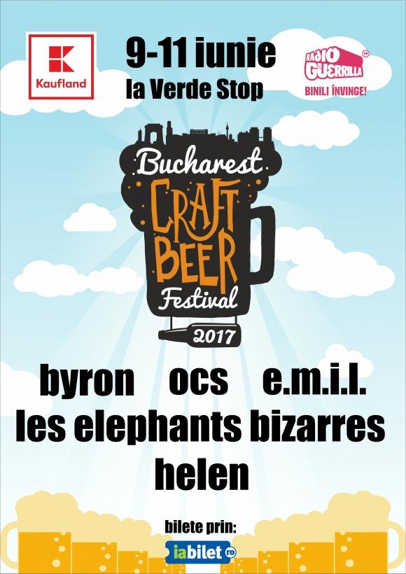 Programul si regulile de acces la Bucharest Craft Beer Festival 2017