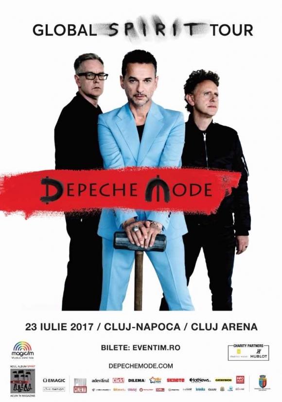A inceput numaratoarea inversa pentru concertul Depeche Mode Pregatiri intense pentru scena…si culise!