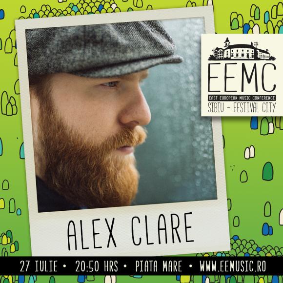 Concert ALEX CLARE la gala de deschidere a primei editii East European Music Conference