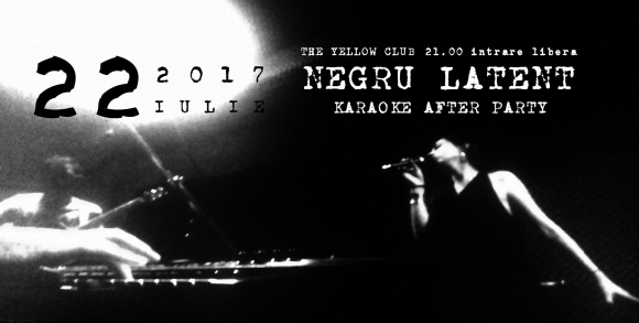 Concert Negru Latent in Yellow Club