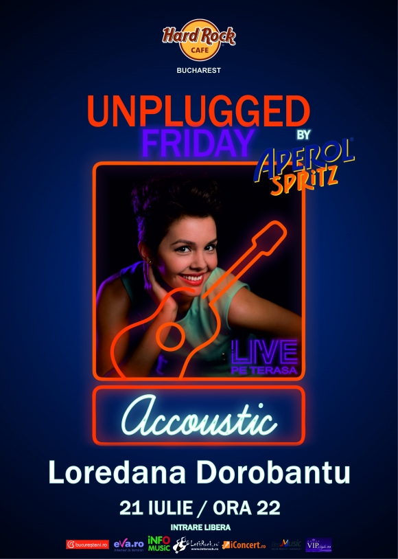 Loredana Dorobantu la Hard Rock Cafe Unplugged Friday