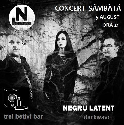 Concert al trupei Negru Latent in Club 3 Betivi