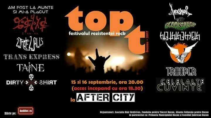 Top T Festival va avea loc in After City Pub din Buzau