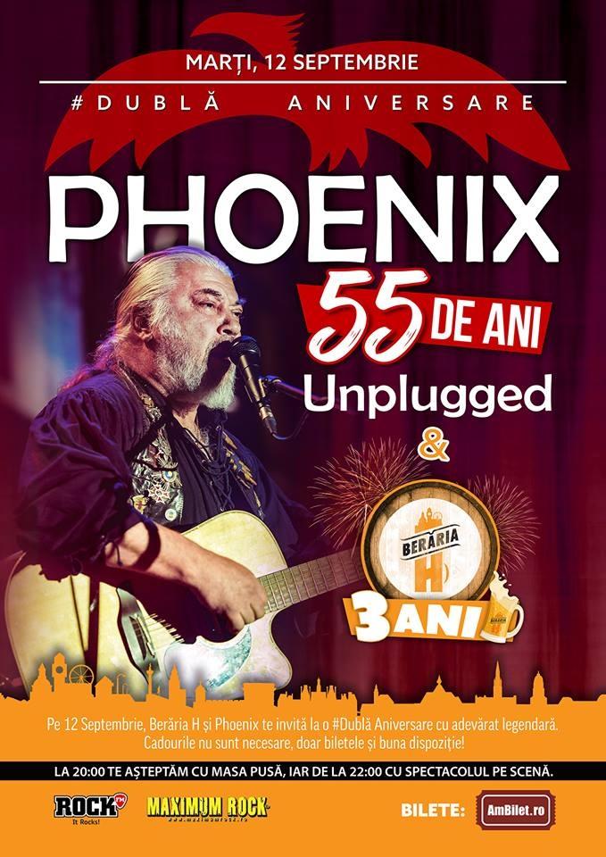 Anul aniversar Phoenix 55 se sarbatoreste printr-un concert acustic si expozitia cu fotografii nepublicate din arhiva personala a lui Nicu Covaci