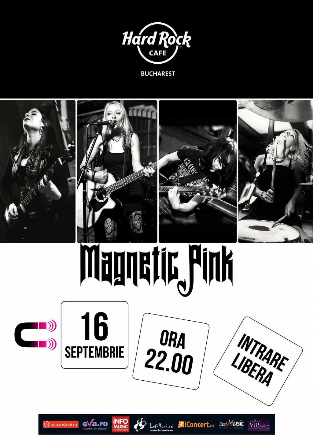 Concert Magnetik Pink pe terasa Hard Rock Cafe