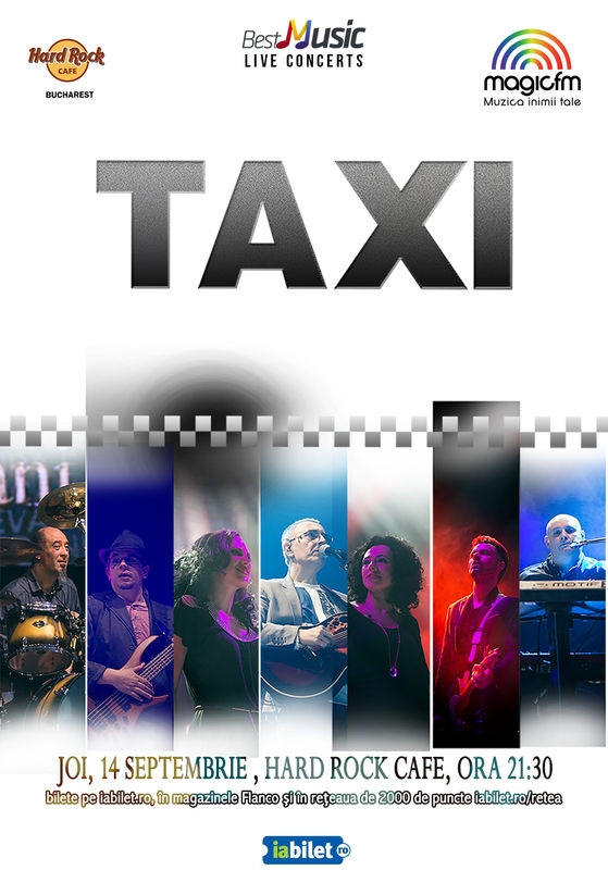 Taxi concerteaza la Hard Rock Cafe pe 14 septembrie
