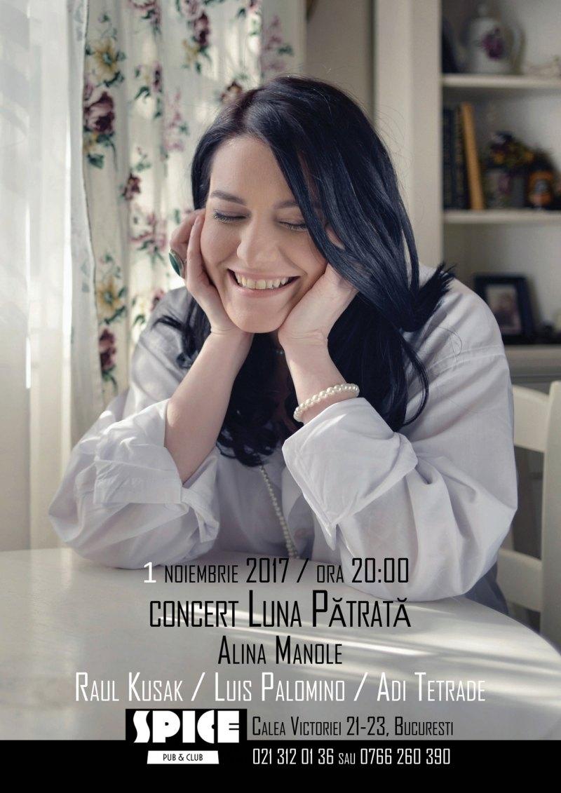 Concert Alina Manole in Spice Club – formula in premiera!