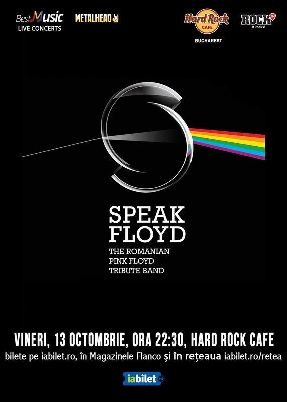 Concert Tribut Pink Floyd cu Speak Floyd la Hard Rock Cafe din Bucuresti