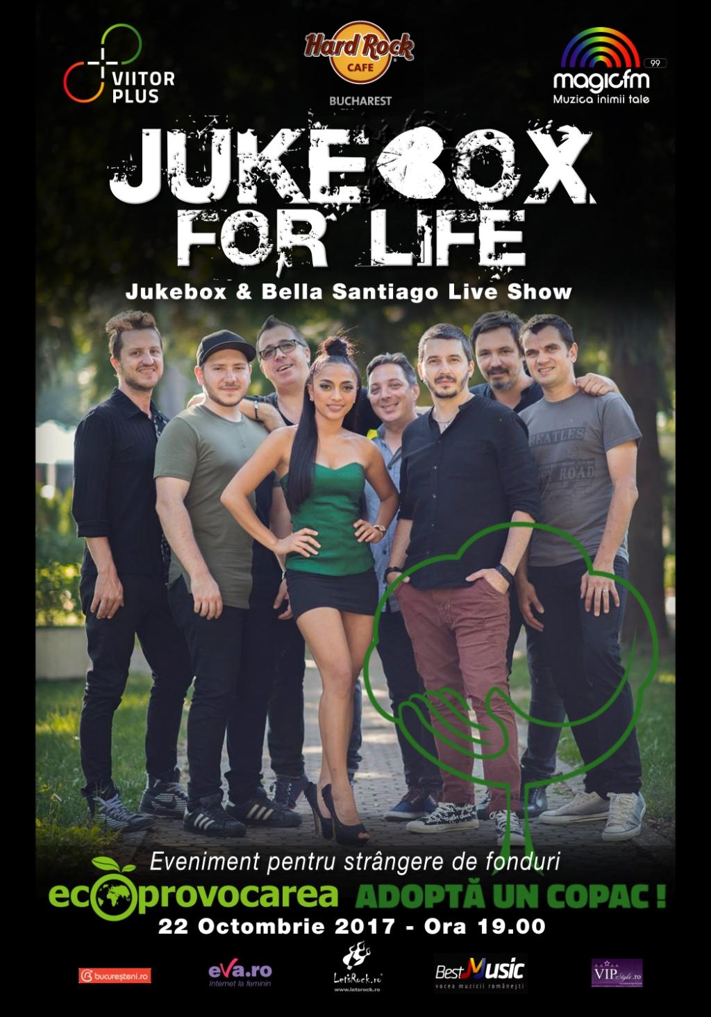 Concert caritabil concert Jukebox for Life la Hard Rock Cafe
