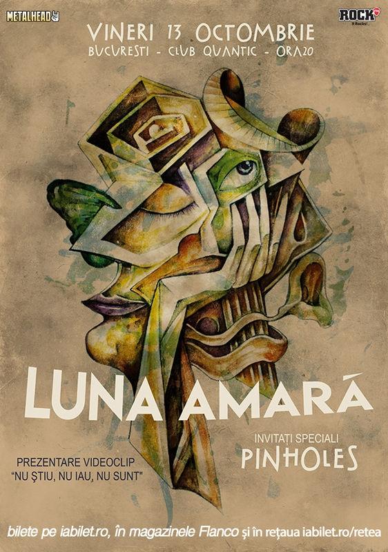 Concert si lansare de videoclip al celor de la Luna Amara