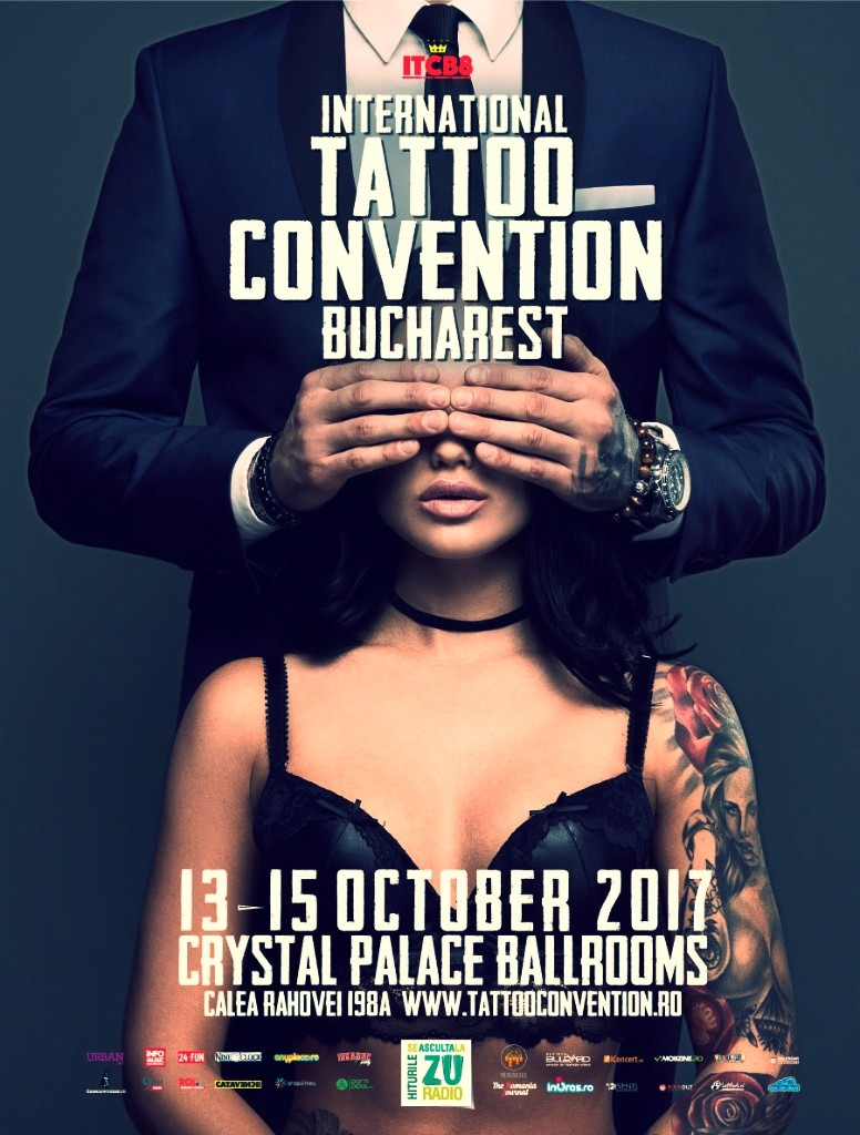 International Tattoo Convention Bucharest are loc in perioada 13-15 octombrie 2017