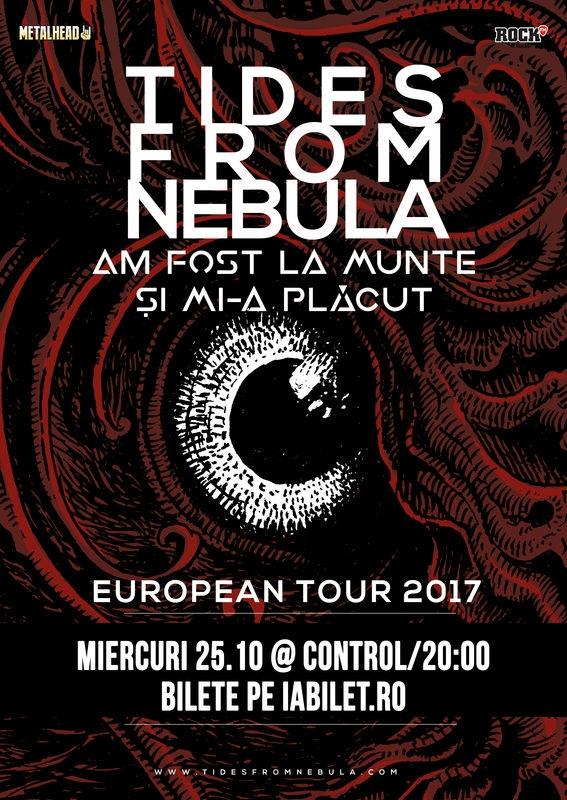 Trupa Am Fost La Munte si Mi-a Placut va canta cu Tides From Nebula la Club Control din Bucuresti