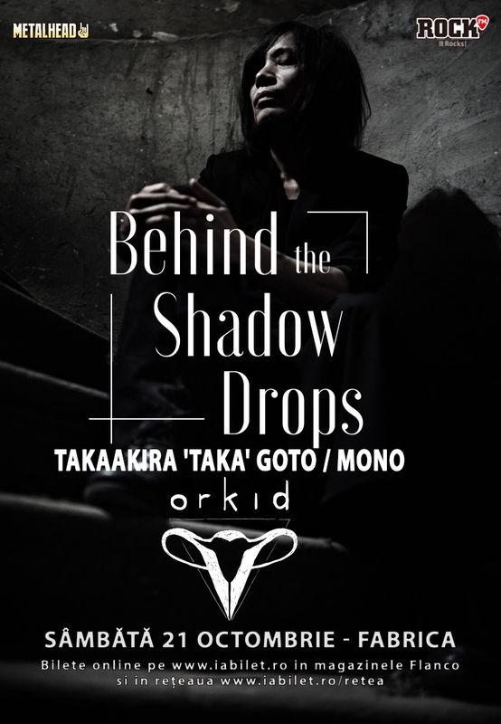 Trupa Orkid canta alaturi de Behind the Shadow Drops in Club Fabrica